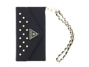 Pouzdro Guess Studded Clutch Black pro iPhone 6/6s