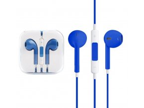 sluchatka ovladani mikrofon modra clearo