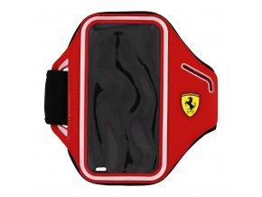 Sportovní pouzdro Ferrari Neoprene Armband Red pro iPhone 5/5S/SE a 6/6s