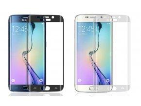 """Tvrzené sklo FULL pro ochranu displeje Samsung Galaxy S6 EDGE (5,1"""") S DOPRAVOU ZDARMA!"""