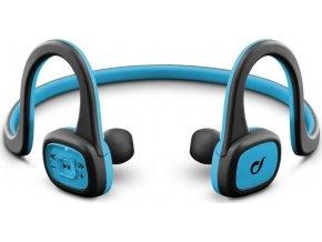 Sportovní bezdrátová In-ear sluchátka CELLULARLINE SHAKE, AQL® certifikace, černo-modrá