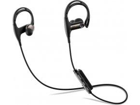 Bezdrátová In-ear stereo sluchátka CELLULARLINE STEADY, AQL® certifikace, černá