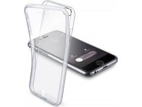 Oboustranné ultratenké pouzdro CELLULARLINE CLEAR TOUCH pro iPhone 6/6S, čiré