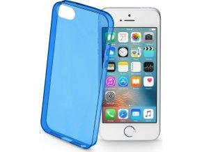 Barevné gelové pouzdro CELLULARLINE COLOR pro Apple iPhone 5/5S/SE, modré