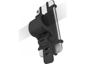 Univerzální držák CELLY EASY BIKE pro telefony a navigace k upevnění na řídítka, černý