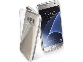 Extratenký zadní kryt CellularLine Fine pro Samsung Galaxy S7, bezbarvý