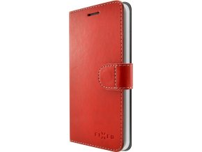 Pouzdro typu kniha FIXED FIT pro Apple iPhone 7 Plus/8 Plus, červené