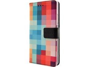 Pouzdro typu kniha FIXED Opus pro Apple iPhone 7 Plus/8 Plus, motiv Dice