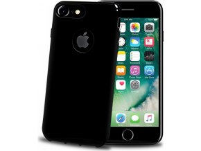 TPU pouzdro CELLY Gelskin pro Apple iPhone 7 Plus/8 Plus, Black Edition