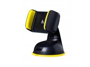 Univerzální držák do auta HOCO CA5 pro mobilní telefony – Yellow (černo-žlutý)