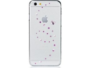 Zadní kryt Bling My Thing Papillon Pink Mix pro Apple iPhone 6/6S, MADE WITH SWAROVSKI® ELEMENTS