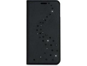 Pouzdro Bling My Thing Primo Milky Way Black/Starry Night pro Apple iPhone X, krystaly Swarovski®