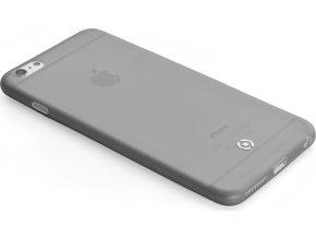 Ultra tenké TPU pouzdro CELLY Frost pro Apple iPhone 6 Plus / 6S Plus, 0,29 mm, černé,rozbaleno