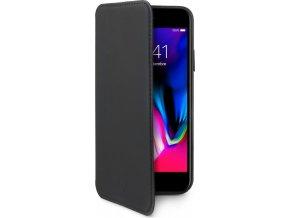 Pouzdro typu kniha CELLY Prestige pro Apple iPhone 7 Plus/8 Plus, PU kůže, černé