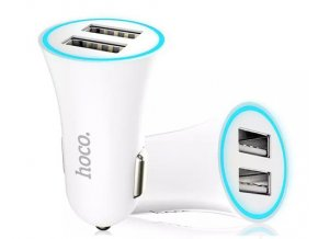 HOCO USB Autoadaptér – UC204 WHITE
