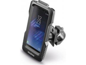 Voděodolné pouzdro Interphone Pro Case pro Samsung Galaxy S8, úchyt na řídítka, černé