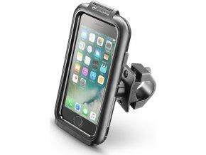 Voděodolné pouzdro Interphone pro Apple iPhone 6/6S/7/8, úchyt na řídítka, černé