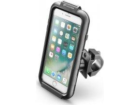 Voděodolné pouzdro Interphone pro Apple iPhone 6 PLUS/7 PLUS/8 PLUS, úchyt na řídítka, černé