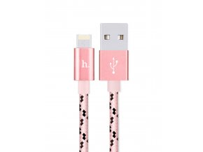 HOCO kabel 2v1 Lightning + Micro USB MULTI-FUNCTIONAL CHARGING CABLE X3 – ROSE GOLD, 1,2m