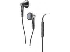 In-ear sluchátka CELLULARLINE SOUL UP s mikrofonem a dálkovým ovládáním, AQL® certifikace, 3,5 mm jack, šedé