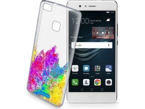 Průhledné gelové pouzdro Cellularline STYLE pro Huawei P9 Lite, motiv ART