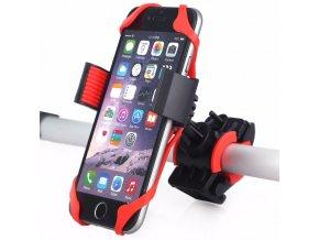 Clearo Bike Mount - Univerzální držák na mobilní telefon na kolo a motorku pro iPhone 5/5S/5C/SE, 6/6S, 6 Plus/6S Plus/7/7 Plus a další telefony