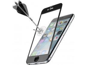 Ochranné tvrzené sklo pro celý displej CellularLine CAPSULE pro Apple iPhone 6/6S, černé