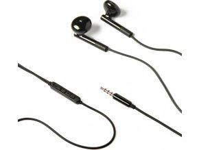 Stereo sluchátka CELLY s mikrofonem, 3,5mm jack, černá