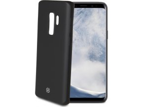 TPU pouzdro CELLY Softmatt pro Samsung Galaxy S9 Plus, matné provedení, černé
