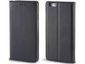 Magnetické pouzdro Clearo Flip pro iPhone 6 +/6S +, černé