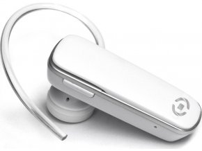 Bluetooth headset CELLY BH8, multipoint, bílý