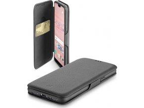 Pouzdro typu kniha CellularLine Book Clutch pro Huawei P20 Pro, černé