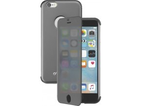 Pouzdro typu kniha Cellularline TOUCH s dotykovým čelním krytem pro iPhone 6/6S, černé