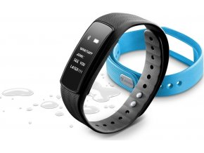 Bluetooth fitness náramek s dotykovým displejem CellularLine EASYFIT TOUCH 2, modrý