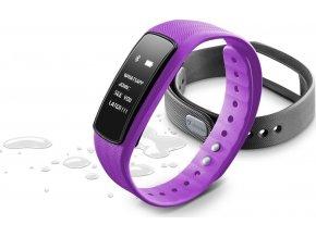 Bluetooth fitness náramek s dotykovým displejem CellularLine EASYFIT TOUCH 2, růžový