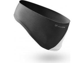 Sportovní čelenka s integrovanými stereo sluchátky Cellularline EARBAND, černá