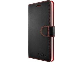 Pouzdro typu kniha FIXED FIT pro Huawei P9 Lite (2017), černé