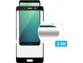Ochranné tvrzené sklo FIXED Full-Cover pro Samsung Galaxy S8, přes celý displej, černé, 0.33 mm