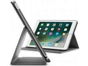 """Pouzdro se stojánkem CellularLine FOLIO pro Apple iPad 9,7"""" (2017), černé"""