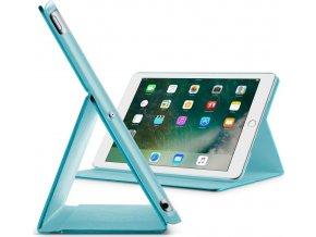 """Pouzdro se stojánkem CellularLine FOLIO pro Apple iPad Pro 10,5"""", tyrkysové"""