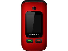 Mobilní telefon Mobiola MB610R, červený
