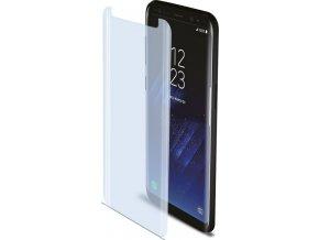 Prémiová ochranná fólie displeje CELLY Perfetto pro Samsung Galaxy S8, lesklá, (fólie do hran displeje)