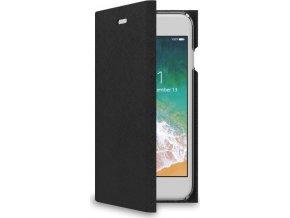 Pouzdro typu kniha CELLY Shell pro Apple iPhone 7/8, černé