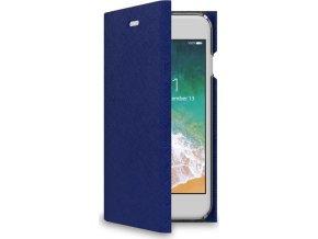 Pouzdro typu kniha CELLY Shell pro Apple iPhone 7/8, modré