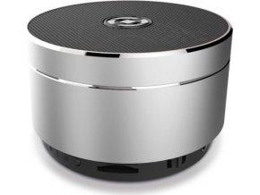 Bluetooth reproduktor CELLY Speaker, hliníková konstrukce, stříbrná