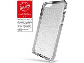 Ultra ochranné pouzdro Cellularline Tetra Force Shock-Twist pro Apple iPhone 7/8, 2 stupně ochrany, bílé