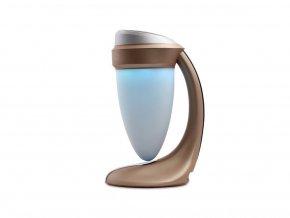 LED lampička DANIU s Bluetooth reproduktorem, zlatá
