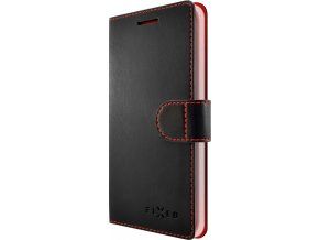 Pouzdro typu kniha FIXED FIT pro Samsung Galaxy Note 8, černé