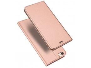 Pouzdro DUX DUCIS SKIN pro iPhone 5/5S/SE, Světle růžové