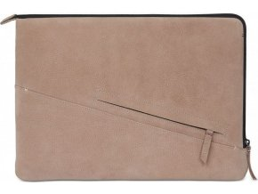 Decoded Leather Slim Sleeve, rose - MacBook Pro 13